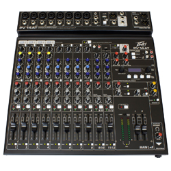 Peavey 03612630 PV 14 AT 14 Channel Mixer with Bluetooth and Auto-Tune