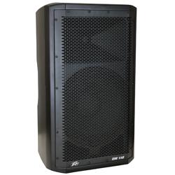 "Peavey 03614480 DM 112 Dark Matter Series Active Loudspeaker with 12"" Heavy-Duty Woofer"