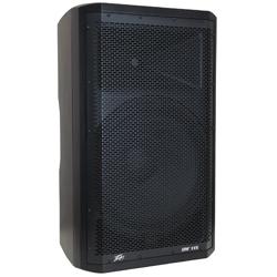 "Peavey 03614530 DM 115 Dark Matter Series Active Loudspeaker with 15"" Heavy-Duty Woofer"