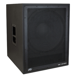 "Peavey DM 118 SUB Dark Matter Series Active Subwoofer with 18"" Premium Heavy-Duty Woofer"