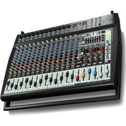 Behringer PMP6000 Europower Series 1600W 20 Channel Powered Mixer with Dual Multi-FX Processor