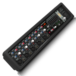 Behringer PMP550M Europower Series 500W 5 Channel Powered Mixer with KLARK TEKNIK Multi-FX Processor