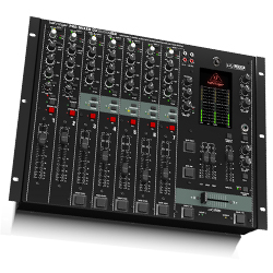 Behringer DX2000USB Professional 7 Channel DJ Mixer with Infinium Contact Free VCA Crossfader