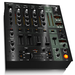 Behringer DJX900USB Professional 5 Channel DJ Mixer with Advanced Digital Effects