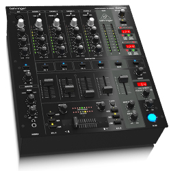 Behringer DJX750 Professional 5 Channel DJ Mixer with Advanced Digital Effects and BPM Counter