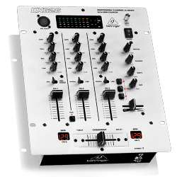 Behringer DX626 Professional 3 Channel DJ Mixer with BPM Counter and VCA Control