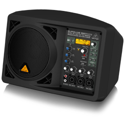 "Behringer B207MP3 Eurolive Series Active 150W 6.5"" PA/Monitor All in One Speaker System with MP3 Player"