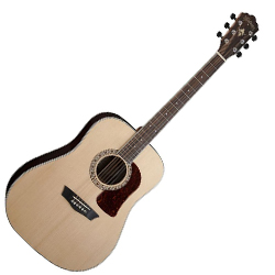 Washburn HD20S Heritage 20 Series 6 String Acoustic Guitar in Natural (discontinued clearance)