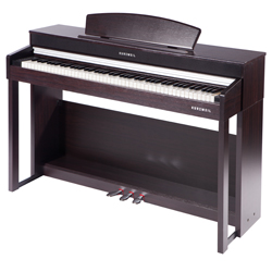 Kurzweil CUP220 SR Andante Series 88 Key Upright Digital Piano with Advanced Chip in Rosewood