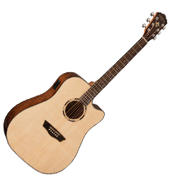Washburn WLD10SCE Woodline 10 Series 6 String Acoustic Electric Guitar (discontinued clearance)