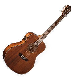 Washburn WLO12SE Woodline 10 Series Orchestra Shape 6 String Acoustic Electric Guitar