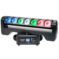 Elation ACL-360-BAR 7x15W RGBW Moving Head Bar Light CSA/Equivalent  Approved