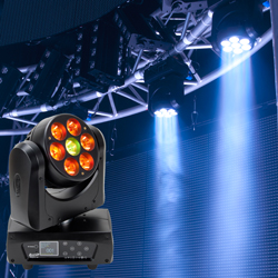 Elation RAYZOR-Q7 7x15W RGBW LED Wash/Beam Moving Head Light