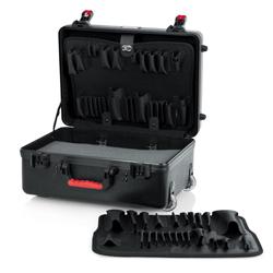 Gator GTSA-UTLPLT1813 ATA TSA Molded 18x13x7 Inch Utility Case with Tool Pallets