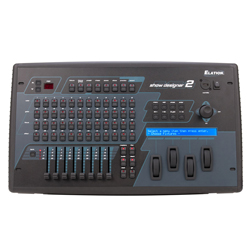 Elation SHOW-DESIGNER-2CF 1024 Channel DMX Controller with Compact Flash Drive