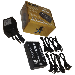 Morley GS-1 Gas Station Multi-Power Supply for Effects Pedals or Stompboxes