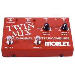 Morley TWIN MIX Dual Channel Splitter/Combiner Guitar Pedal