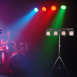 Chauvet 4BAR USB Wash Light Lighting Package with D-Fi USB Compatible Wireless DMX Control