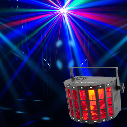 Chauvet Kinta FX LED Effects Light with Derby Effect, Laser and SMD Strobe