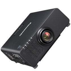 Panasonic PTRW630BU 6500lm WXGA 1-Chip DLP Projector in Black Casing