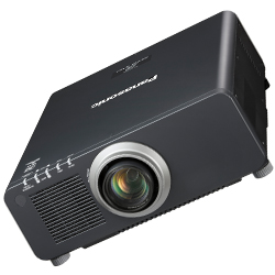 Panasonic PTDW830ULK 8500lm WXGA 3D Professional 1-Chip DLP Projector  in Black Casing without Lens