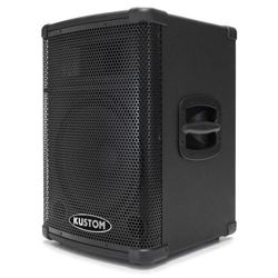 Kustom PA PA2X12BT Active 2 Unit Speaker System with Built In 4 Channel Mixer and Bluetooth