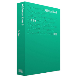 Ableton Live 9 Intro Entry Level Audio Recording and Live Performance Software