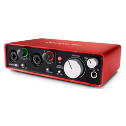 Focusrite Scarlett 2i2 MK2 Next Generation 2 in 2 out USB Audio Interface and Mic Preamp