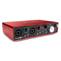 Focusrite Scarlett 2i4 MK2 Next Generation 2 in 4 out USB Audio Interface and Mic Preamp