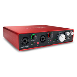 Focusrite Scarlett 6i6 MK2 Next Generation 6 in 6 out USB Audio Interface with Dual Mic Preamps