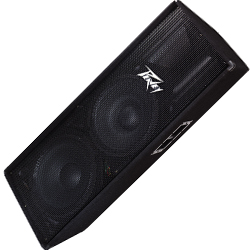 Peavey 00572170 PV 215 Passive Two Way Double Speaker Loudspeaker