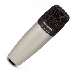 Samson C01 Large Diaphragm Condenser Microphones for Vocals, Acoustic Instruments, and Drums