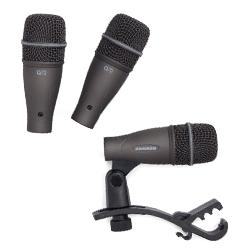 Samson DK703 3 Piece Q72 Drum Microphone Kit