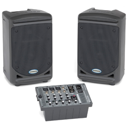 Samson XP150 Expedition Series 150W Portable All In One PA System