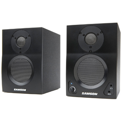 Samson MBT3 Pair of MediaOne Series 15W 3 Inch Active Studio Monitors with Bluetooth