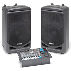 Samson XP1000 Expedition Series 1000W Portable All In One PA System with Bluetooth
