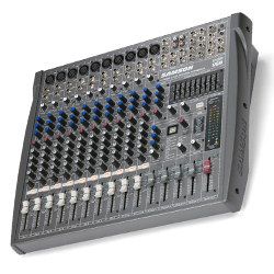 Samson L1200 12 Channel 4 Bus Professional Mixing Console with USB