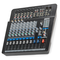 Samson MXP144FX MixPad 14 Input Analog Stereo Mixer with Effects and USB