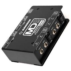 Samson MD2-PRO Professional Stereo Passive Direct Box