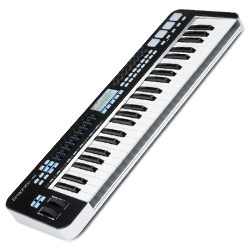 Samson KGR49 Graphite Series 49 Key Semi-Weighted MIDI Keyboard