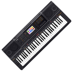Casio MZ-X300 61-Key Arranger Keyboard in Black with Over 900 High-Quality Tones