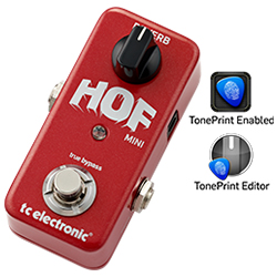 TC Electronic HOF Mini Reverb Hall of Fame Mini reverb pedal