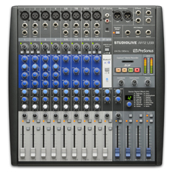 Presonus StudioLive-AR12 14 Channel Hybrid Performance and Recording Mixer with USB and Bluetooth