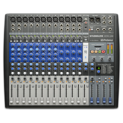 Presonus StudioLive-AR16 18 Channel Hybrid Performance and Recording Mixer with USB and Bluetooth