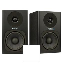 Fostex PM0.4c White Personal Active Studio Monitor Speaker System in White