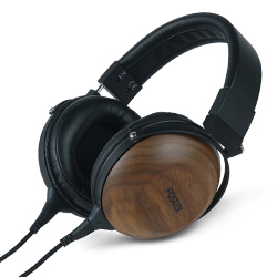 Fostex TH-610 Stereo Headphones in Matte Finished Black Walnut Housing
