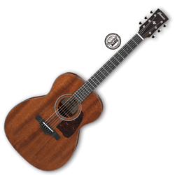 Ibanez AVC9-OPN Artwood Vintage Thermo Aged Series 6 String Acoustic Guitar in Open Pore Natural