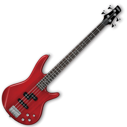 Ibanez GSR200-TR-d Gio Series 4 String Bass Guitar in Transparent Red (discontinued clearance)
