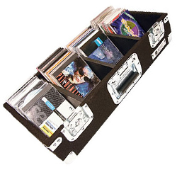 Odyssey CCD300P Carpeted Professional CD Case for Up to 300 View Packs