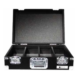Odyssey CCD450P Carpeted Professional CD Case with Wheels for Up to 450 View Packs